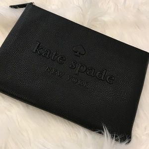 [Kate Spade] Gia Ash Street Leather Clutch Pouch
